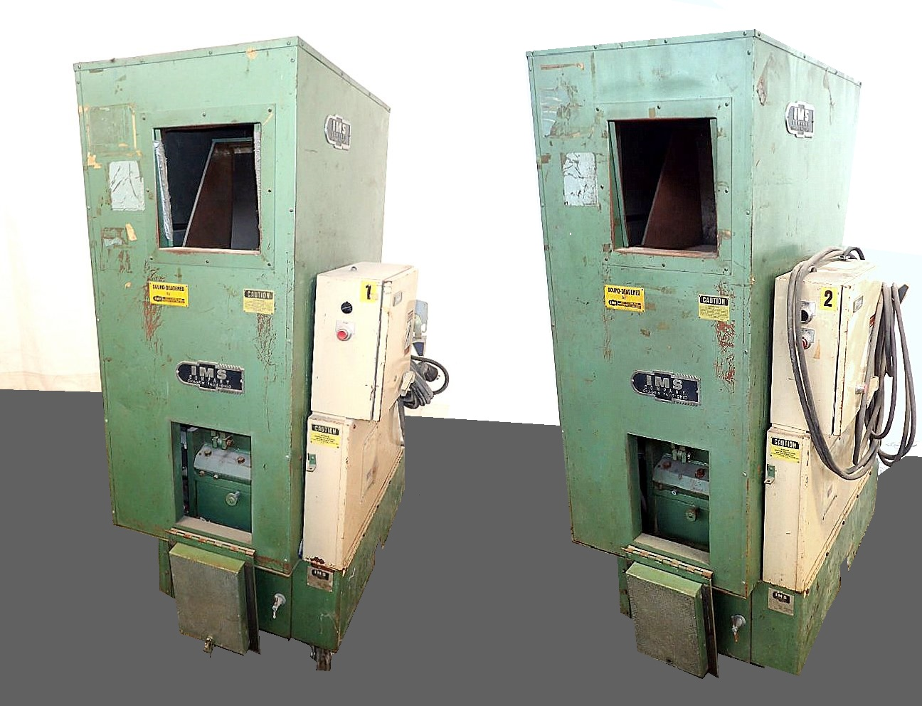 2 ALIKE INSULATED IMS GRANULATORS A1